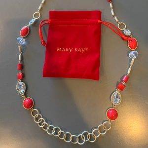 Mary Kay Race For Red Necklace